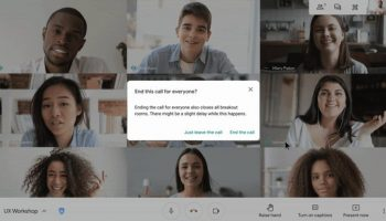 Google Meet adds new capability to simultaneously end a video call for all